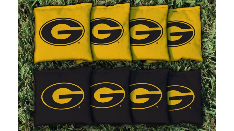 Grambling State University Cornhole Bags - set of 8