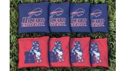 Howard University Cornhole Bags - set of 8