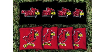 Illinois State University Cornhole Bags - set of 8