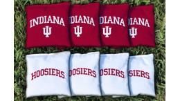 Indiana University Cornhole Bags - set of 8