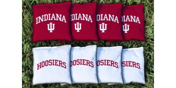 Indiana University Cornhole Bags - set of 8