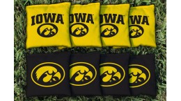 Iowa University of Cornhole Bags - set of 8