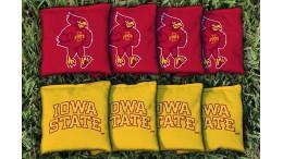 Iowa State University Cornhole Bags - set of 8