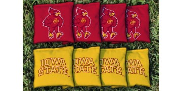 Iowa State University Cornhole Bags - set of 8