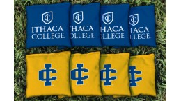 Ithaca College Cornhole Bags - set of 8