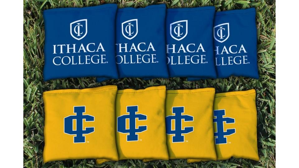 Ithaca College Cornhole Bags - set of 8