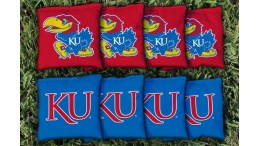 Kansas University of Cornhole Bags - set of 8