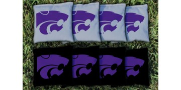 Kansas State University Cornhole Bags - set of 8