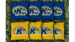 Kent State University Cornhole Bags - set of 8