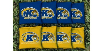 Kent State University Cornhole Bags - set of 8