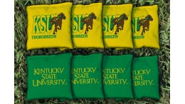 Kentucky State University Cornhole Bags - set of 8