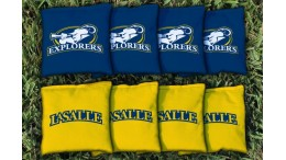 La Salle University Cornhole Bags - set of 8
