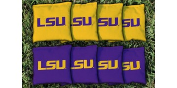 Louisiana State University Cornhole Bags - set of 8