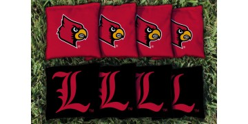 Louisville University of Cornhole Bags - set of 8
