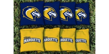 Marquette University Cornhole Bags - set of 8