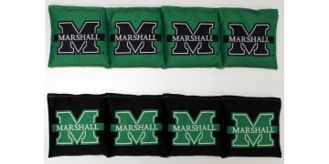 Marshall University Cornhole Bags - set of 8