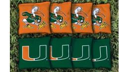 Miami University of Cornhole Bags - set of 8