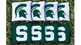 Michigan State University Cornhole Bags - set of 8