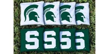 Michigan State University Cornhole Bags - set of 8