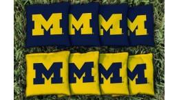 Michigan University of Cornhole Bags - set of 8