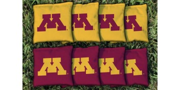 Minnesota University of Cornhole Bags - set of 8