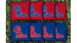 Mississippi University of Cornhole Bags - set of 8