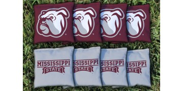 Mississippi State University Cornhole Bags - set of 8