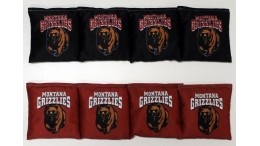 Montana University of Cornhole Bags - set of 8
