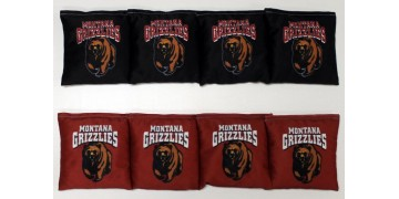 Montana University of Cornhole Bags - set of 8