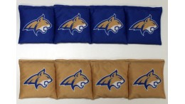 Montana State University Cornhole Bags - set of 8