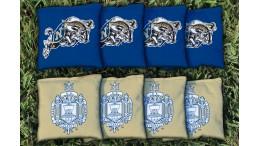 Naval Academy Cornhole Bags - set of 8