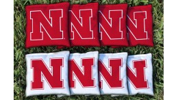 Nebraska University of Cornhole Bags - set of 8