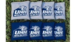 New Hampshire University of Cornhole Bags - set of 8