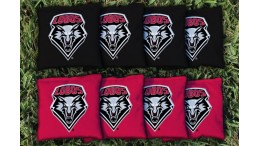 New Mexico University of  Cornhole Bags - set of 8