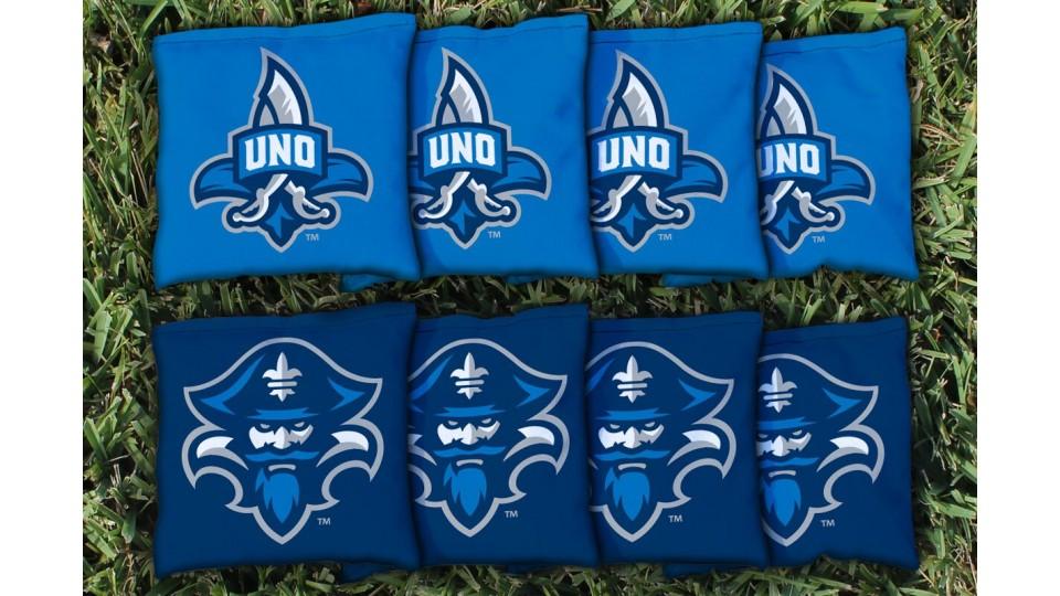New Orleans University Cornhole Bags - set of 8