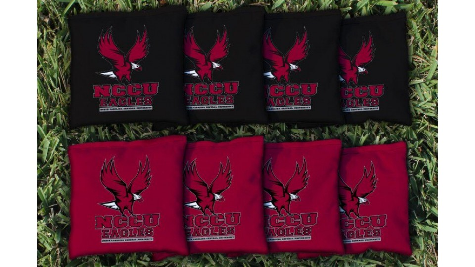 North Carolina Central University Cornhole Bags - set of 8