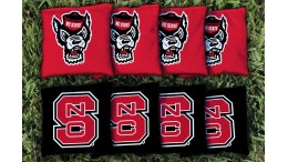 North Carolina State Cornhole Bags - set of 8
