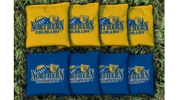 Northern Colorado University Cornhole Bags - set of 8