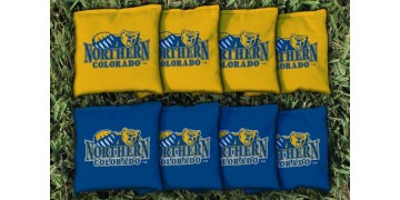 Northern Colorado University Cornhole Bags - set of 8