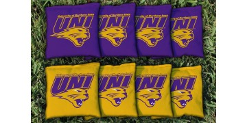 Northern Iowa University of Cornhole Bags - set of 8