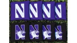 Northwestern University Cornhole Bags - set of 8