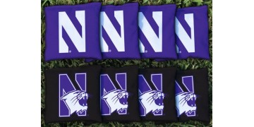 Northwestern University Cornhole Bags - set of 8