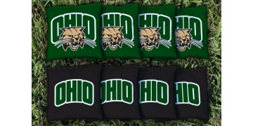 Ohio University Cornhole Bags - set of 8