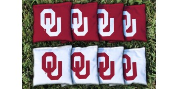 Oklahoma University of Cornhole Bags - set of 8