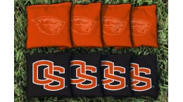 Oregon State University Cornhole Bags - set of 8