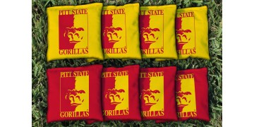 Pittsburg State University Cornhole Bags - set of 8