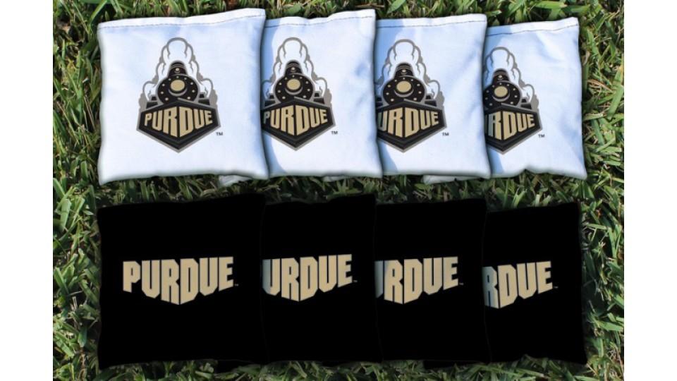 Purdue University Cornhole Bags - set of 8