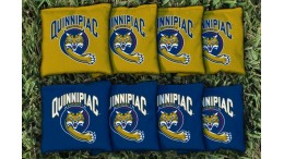 Quinnipiac University Cornhole Bags - set of 8