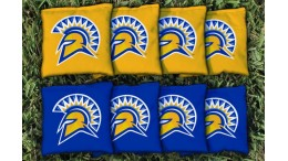 San Jose State University Cornhole Bags - set of 8