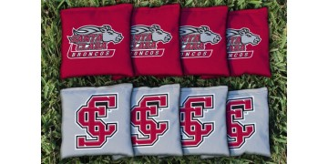 Santa Clara University Cornhole Bags - set of 8